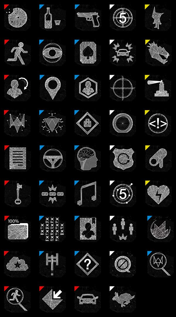 Watch Dogs | Graphic Direction on Behance