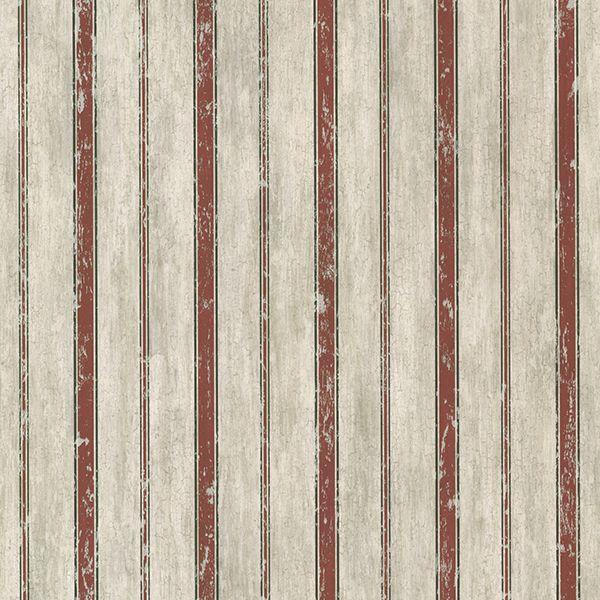SRC64123 Brick Parker Stripe   Saco   Stripes Wallpaper By Chesapeake