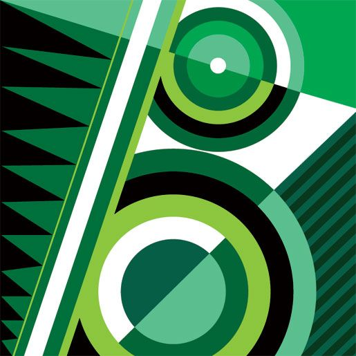 I'm a fan a geometric art.