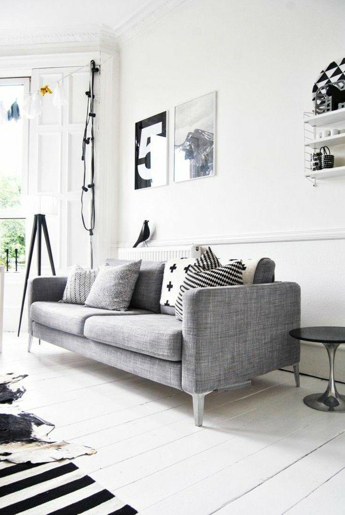 sofa grau 50 beispiele warum sie ein sofa genau in diesem farbton auswhlen - Wohnzimmer Sofa Grau
