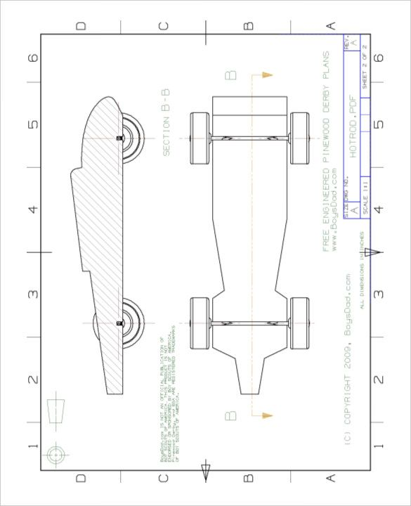 Cool pinewood derby templates free sample example
