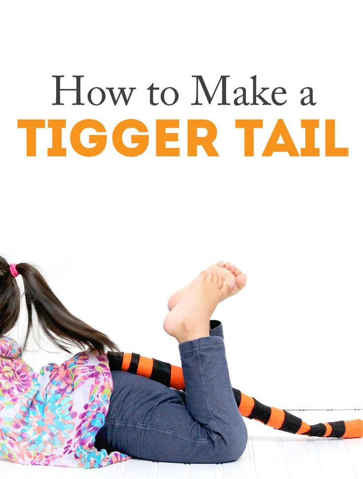 how to make a cheetah tail
