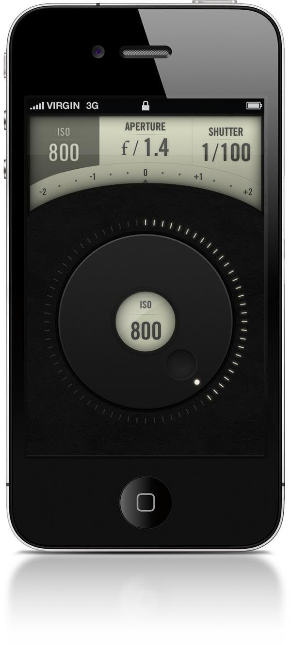 Camera Remote iPhone App Concept by Jeremey Fleischer
