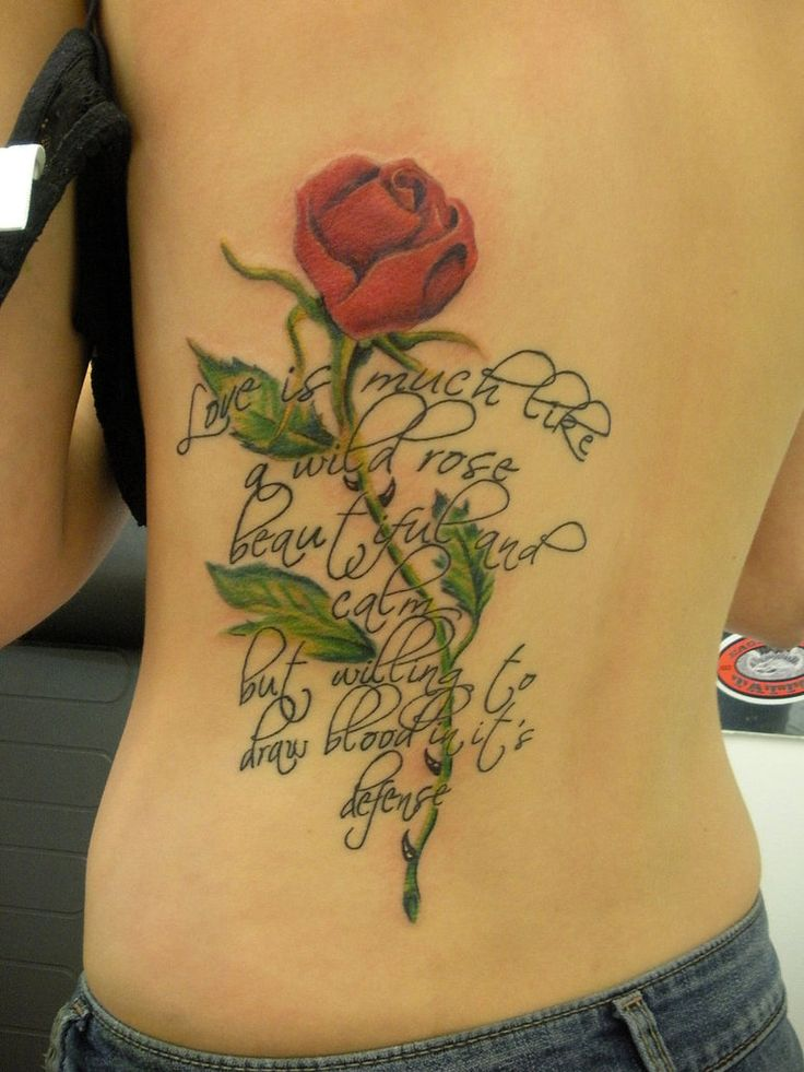 Pictures of Tattoos   Beauty of Rose Tattoos   Glam Bistro