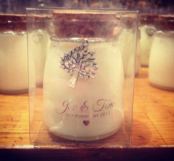 5175 Wedding Favors / Custom Soy Candle Favours / by BranchAndBel