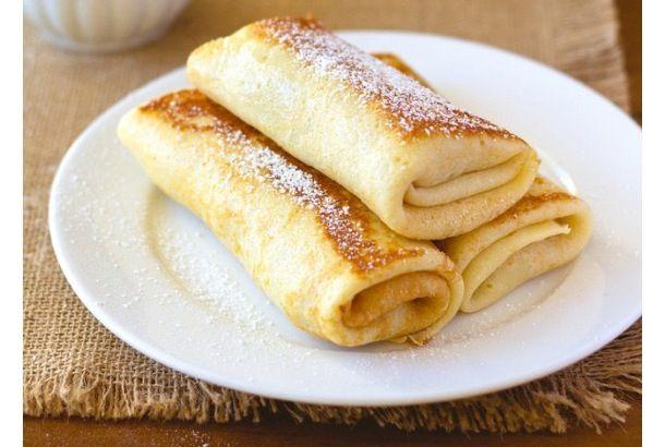うまそなレシピ見つけたよ、「リコッタチーズとリンゴのクレープ」 | roomie(ルーミー)