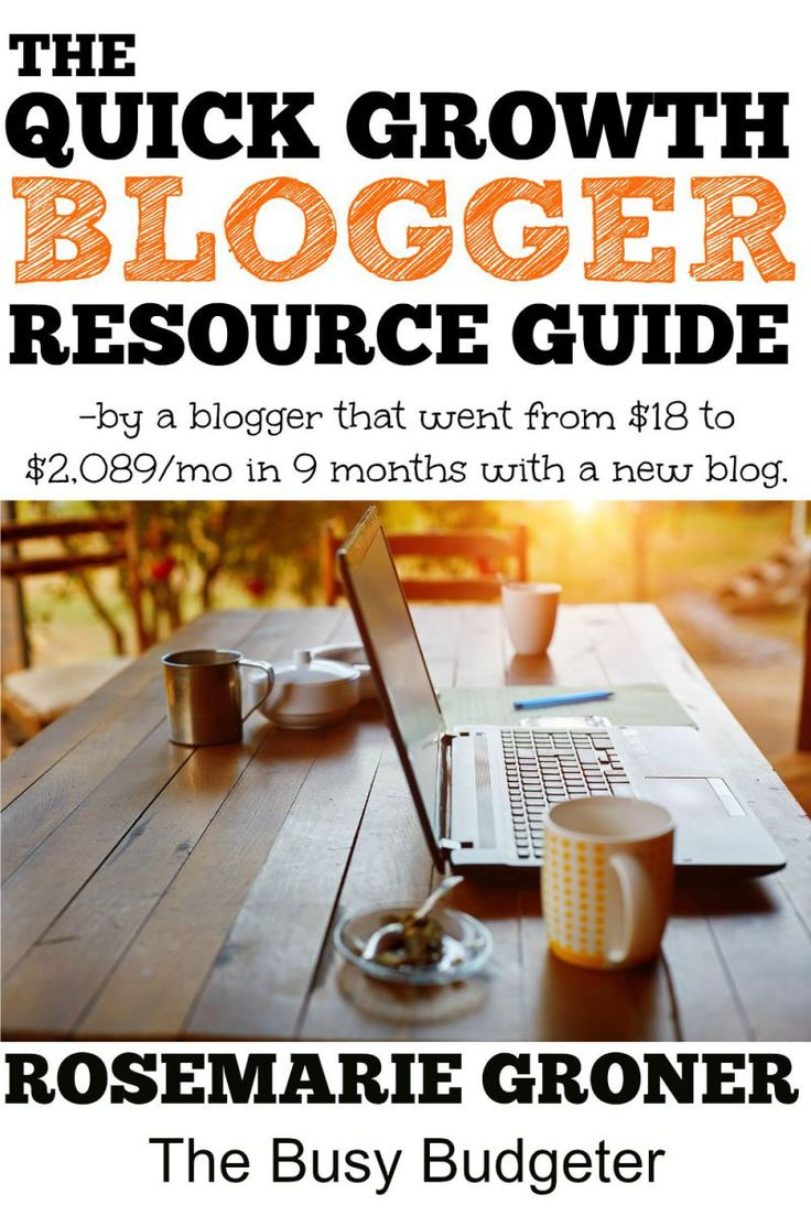 These are the resources she used to grow a brand new blog from earning $18/month to $2,089/month in 9 months. I love that she has ALL of the resources. Everything from ad networks, plug ins, hosting companies, gaphic design resources, free stock photos, even a mastermind group! She has an income/pageview guide which is great to compare where I am right now.