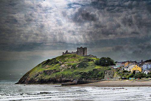 Criccieth Castle, Gwynedd,Cardigan Bay,Wales