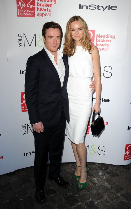 Toby Stephens and his wife Anna-Louise Plowman. In the Gielgud Theatre's production of Private Lives, Tony Stephens will be playing Elyot, with Anna-Louise Plowman playing his on-stage wife Sibyl.