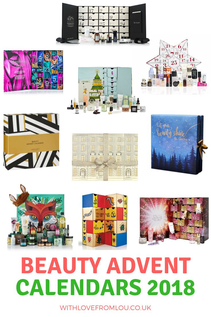 Top 10 Beauty Advent Calendars 2018 And Giveaway Beauty Advent