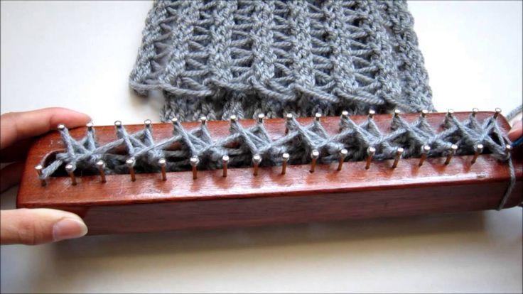 Punto Calado en Telar Maya/ Fretwork Stitch on Loom