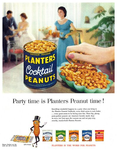 Planters Peanuts advertisement.