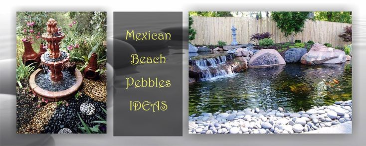 Wholesale Mexican beach pebbles for sale, landscape rocks, beach stones, driftwood, chicharon, flagstone and landscape materials by the truckload.