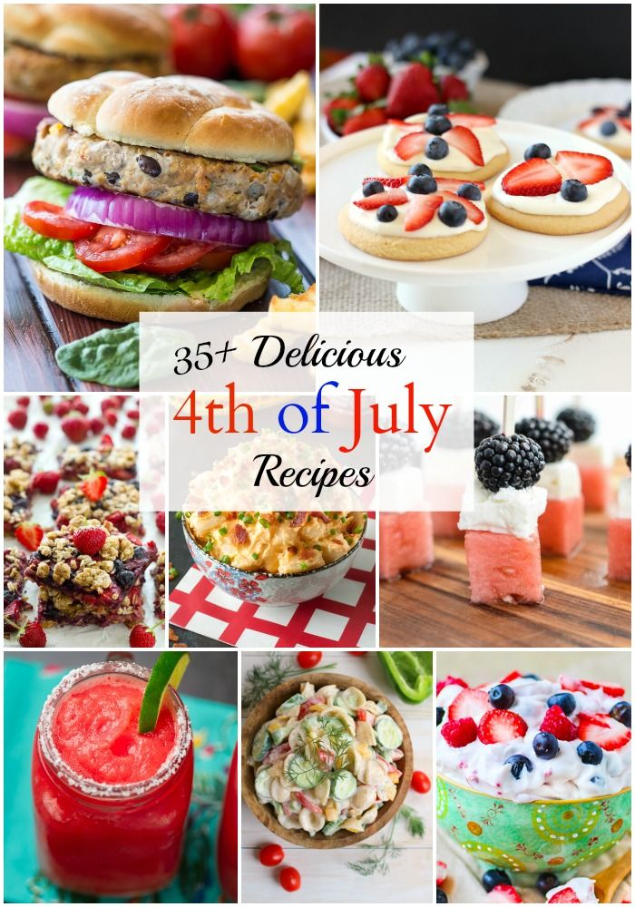 top july 4th recipes