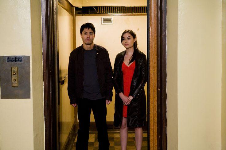 Lena (Sasha Grey) defends Jake (Jason Yee) and is empathetic for Jakes loss...