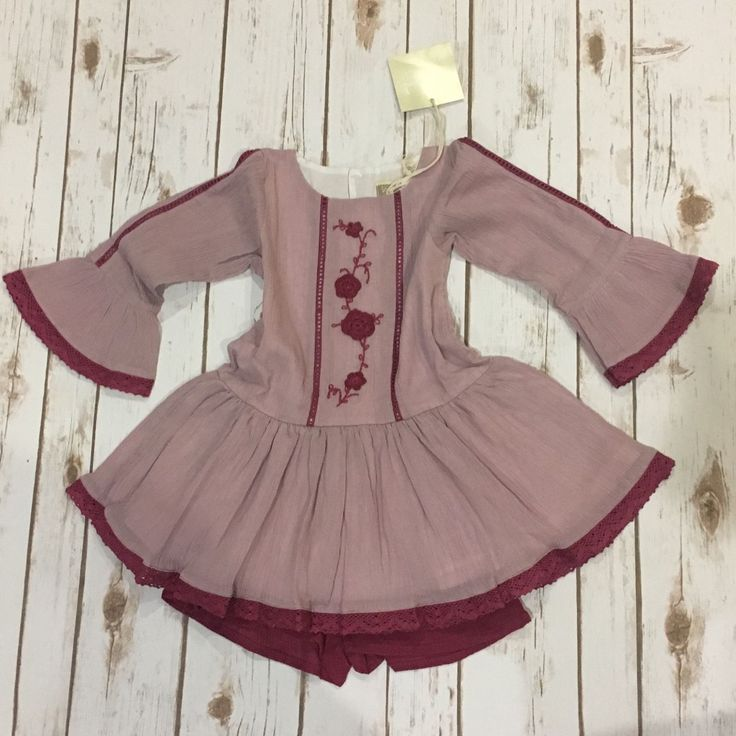 well dressed wolf Plum Marguerite WDW NWT | Clothing, Shoes & Accessories, Baby & Toddler Clothing, Girls' Clothing (Newborn-5T) | eBay!