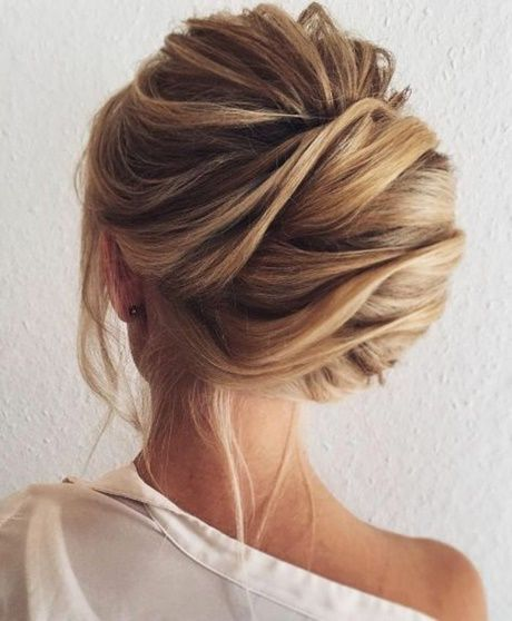Hochsteckfrisuren Mittellange Haare Halboffen Verschiedenes