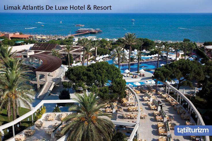 Deniz kenarında muhteşem bir konuma sahip olan Limak Atlantis De Luxe Hotel & Resort, hayal ettiğiniz tatili Palmiye ağaçları arasında sizlere sunuyor. :)