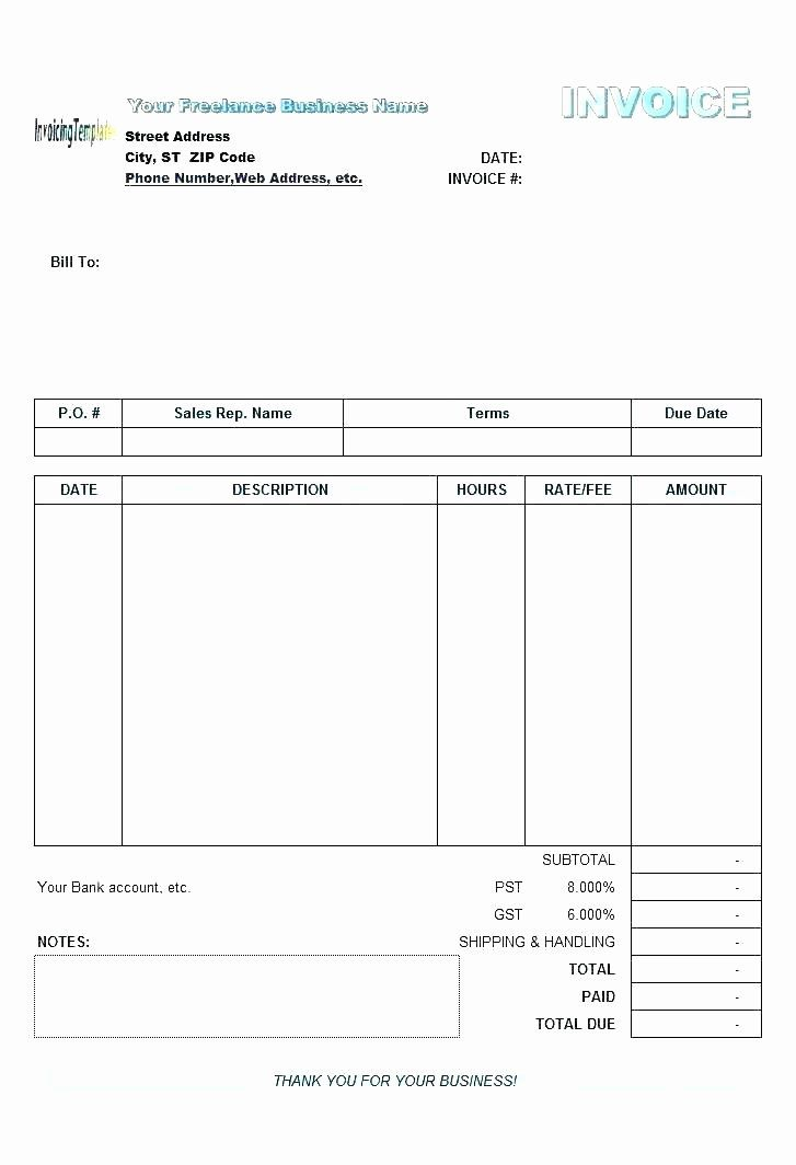 Google Docs Receipt Template Best Of Google Doc Invoice Template Receipt Template Invoice Template Templates