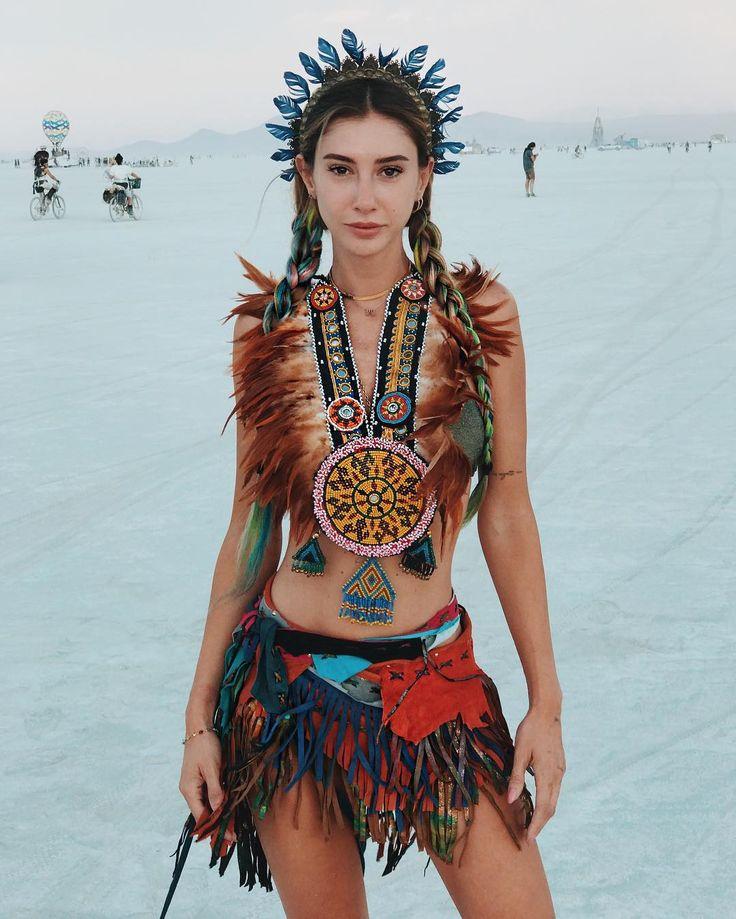 Burning Man Fashion Women Boho Sexy Gypsy Headpiece Lace -5609