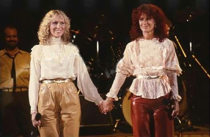 Anna and Frida, 1982