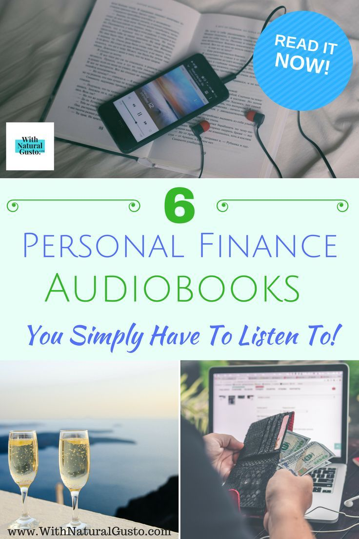 6 Personal Finance Audiobooks That Will Turn You Into A Money Genius