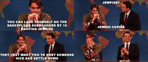 Stefon Explains Jewpids #snl #stefon