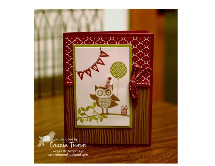 by Connie Tumm, Stamp Art Squared
