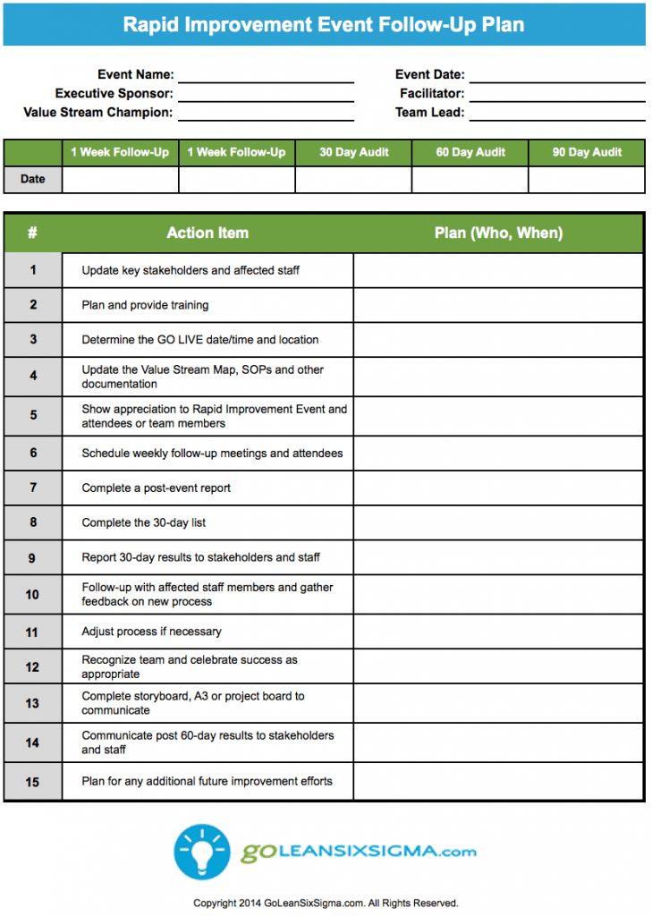 process implementation plan template - 119 best images about lean six sigma templates on