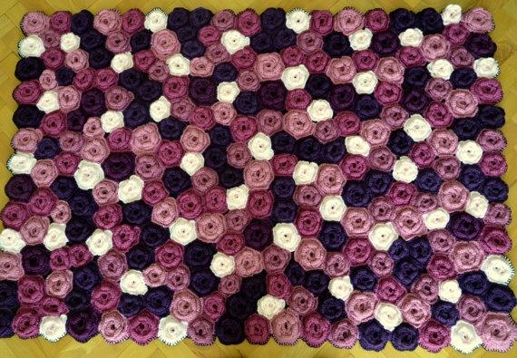 en Pinterest | Tapetes de ganchillo, Alfombras y Patrones de alfombras
