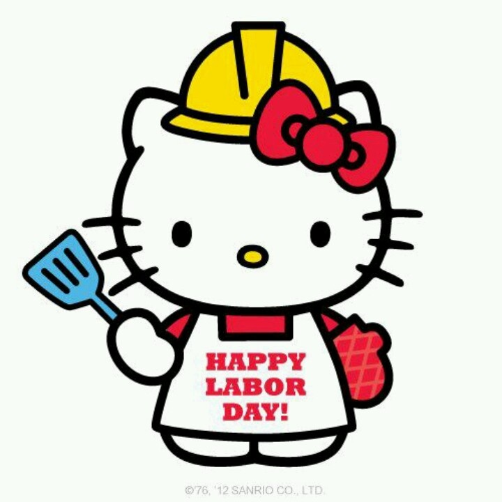 Image result for labor day kitty