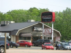 "Bonanza Restaurant - ""Our"" Bonanza steak place was located in Danville, VA."