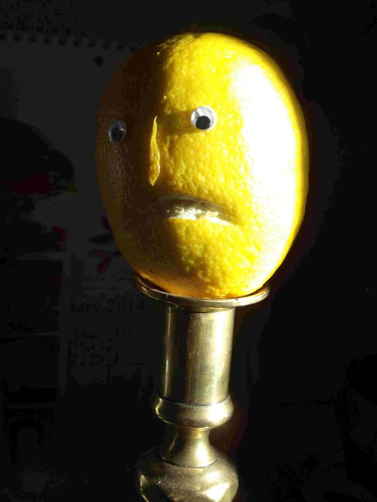 It's Shrove Tuesday and Mr Lemon is paying a call on Mr Angry Orange.