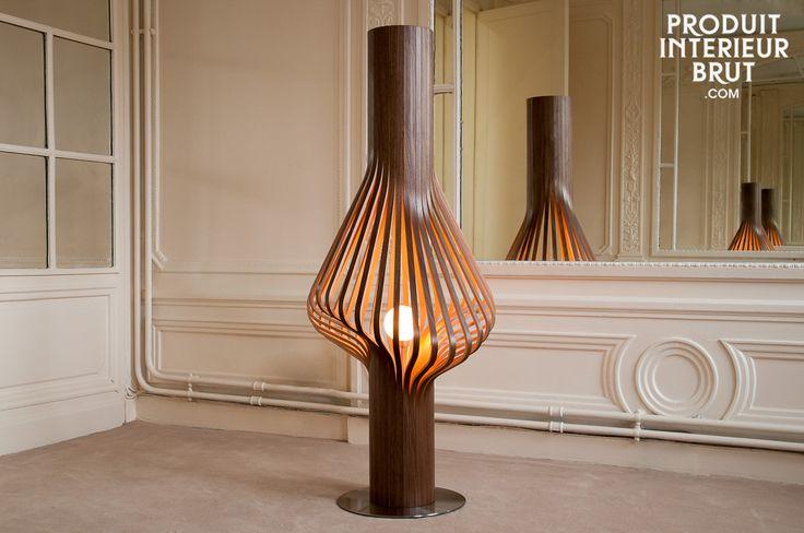 Lampe de salon Diva - Une sculpture lumineuse d'exception