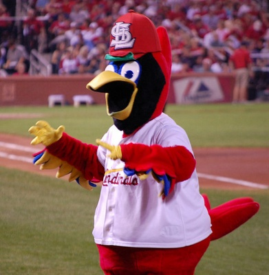 Fredbird. He's like the weird uncle of the family. Not the best mascot, but we love him. Sorta.