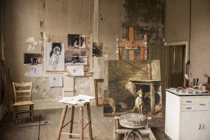 Andrew Wyeth's Studio   -image