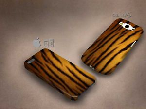 Tiger Skin 3D case, full image, for iphone 4/5/5c & Galaxy S3/S4