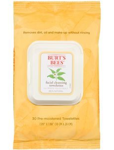 Burt's Bees Facial Cleansing Towelettes with White Tea Extract... perfect to wash the race sweat off yo face!: Burt's Bees Facial Cleansing Towelettes with White Tea Extract... perfect to wash the race sweat off yo face!