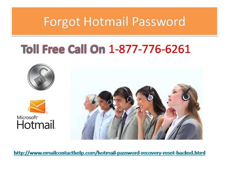 1-877-776-6261   #Hotmail #forgot #password provides you with Step-By-Step solution