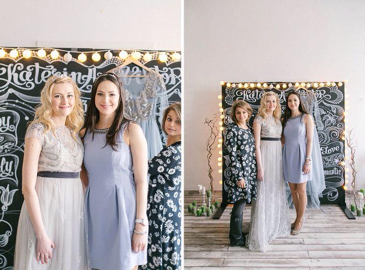 Wedding workshop for brides . With wedding dress designer Tany Kochnova