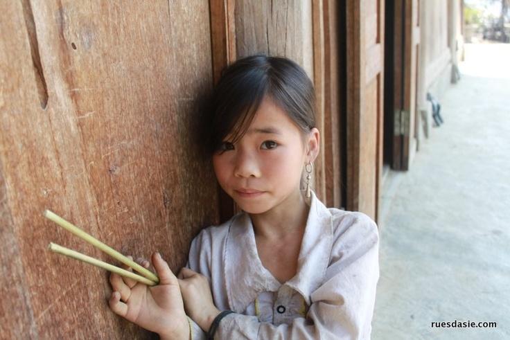 Passer la nuit chez l'habitant | Une petite fille dans la région de Bac Ha