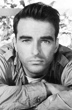 Montgomery Clift, brooding bad boy who always seemed to be sad & confused. So very lovable.