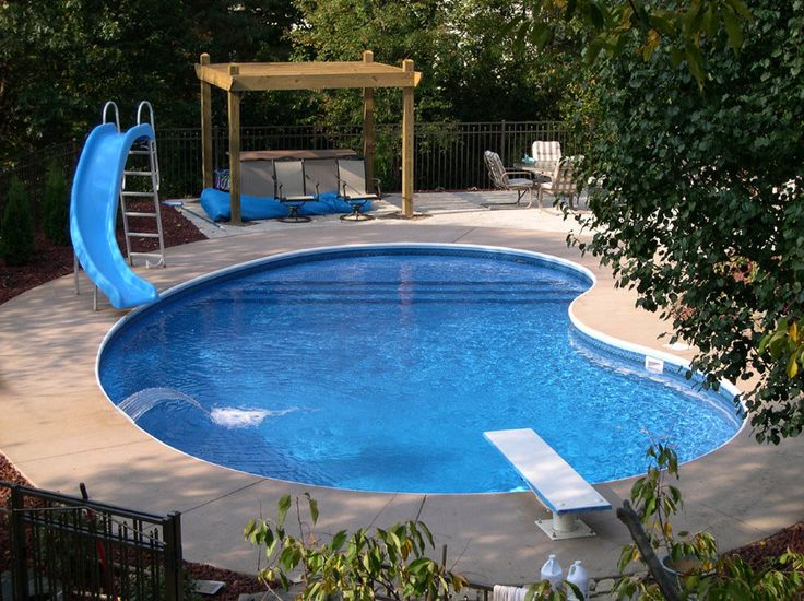 Modern Pool Designs With Slide 80 best fiberglass pools images on pinterest | fiberglass pools