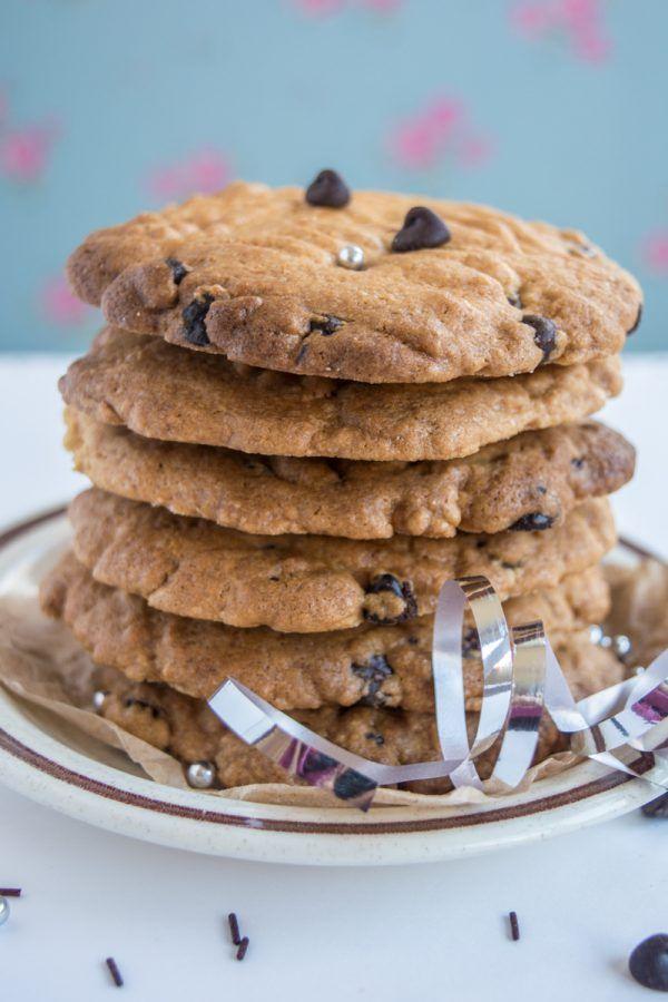 Безглютеновое печенье с шоколадом