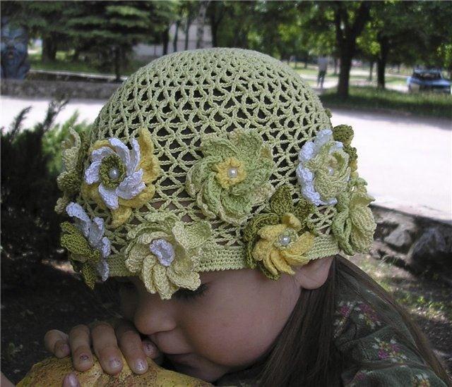 Шапки-шляпки и панамки: вяжем крючком. Caps, hats and panama: Knit crochet ~ DIY Tutorial Ideas!
