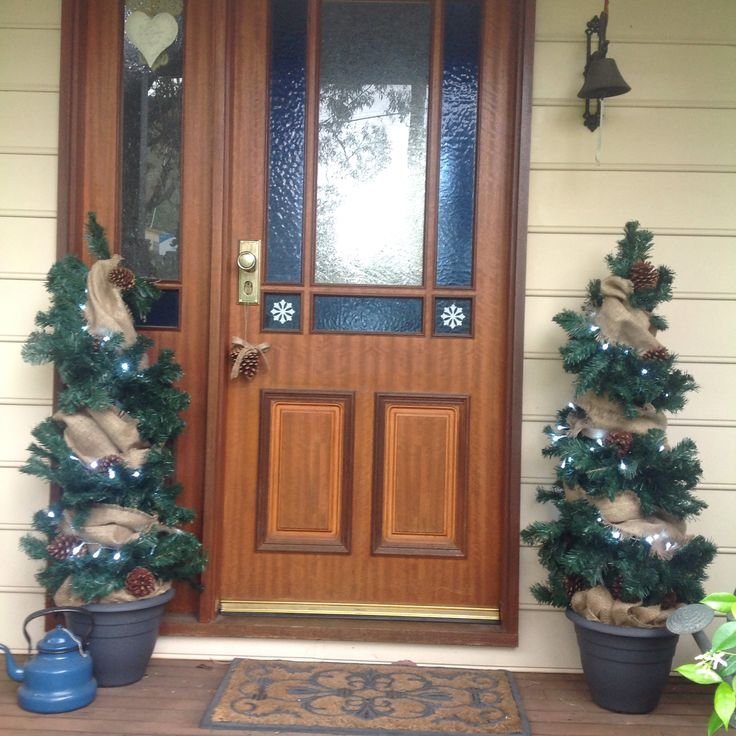 Christmas 2015, Front Porch