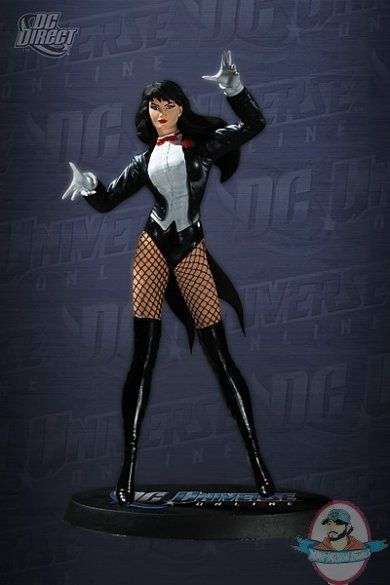 DC Universe Online: Zatanna Statue by DC Direct | Man of Action Figures