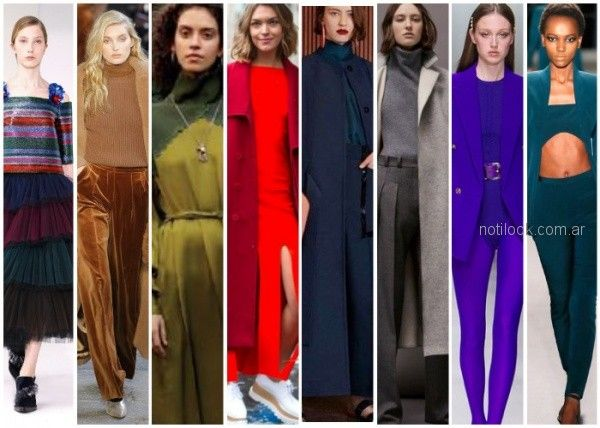 Colores de moda otoño invierno 2018 | Noticias de Moda Argentina