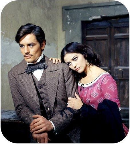 Alain Delon e Claudia Cardinale - Il Gattopardo, (1963)