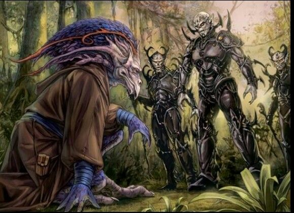 jedi vergere surrenders to the yuuzhan vong on zonama sekat